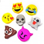 Unicorn Emoji Phone Charger Pack - 2018 Top Sale Emoji Power Bank 2000MAH Unicorn Cartoon USB Output Portable External Battery Pack Charger for All Phone