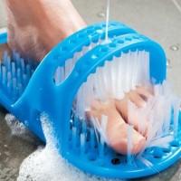 Foot SPA Slipper - 28cm*14cm*10cm Plastic Bath Shoe Shower Brush Massager Slippers Bath Shoes Brush for Feet Pumice Stone Foot Scrubber Brushes