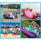 New 2017 Air Mattress-Inflatable Outdoor lazy sofa sleeping bag portable folding rapid air inflatable sofa Adults Kids Beach blow-up lilo bed10072