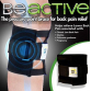 BE ACTIVE BRACE FOR PAIN RELIEF - Sports Magnetic Therapy Black Knee brace Leggings Pressure Point Brace Back Pain Acupressure Sciatic Nerve Be Active BUY1-GET110059
