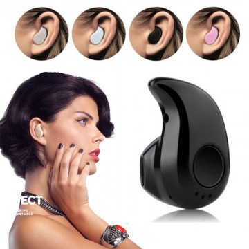 World s Smallest Bluetooth Earphone - Mini Wireless Earphone Stereo Bluetooth Headset Stealth In Ear For Tablet PC PS3 Samsung iPhone HTC Motorola Nokia Huawei LG ZTE BUY1-GET110013