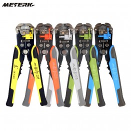Multi functional Crimping Stripping Pliers Cable Wire Stripper Cutter Crimper Automatic Tools Electric
