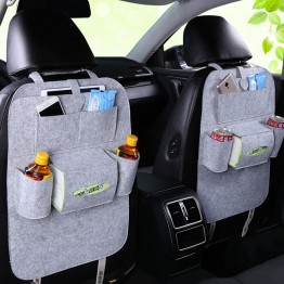 Back Seat Car Organizer - Caddy Auto Car Back Seat Storage Organizer Holder Bottle tissue box Magazine Cup Food Phone Bag backseat Organizer BUY1-GET1