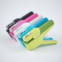 Creative Hot Mini Stapler Safe Staple Free Stapler Office Paper binding Stapleless Stapler Without Staple