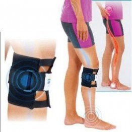 BE ACTIVE BRACE FOR PAIN RELIEF - Sports Magnetic Therapy Black Knee brace Leggings Pressure Point Brace Back Pain Acupressure Sciatic Nerve Be Active BUY1-GET1
