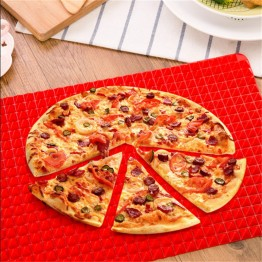 Healthy Chef Raised Baking Sheet Silicone Roasting Mat 39*27*1cm Pyramid Shape Silicone Baking Pad BUY1-GET1