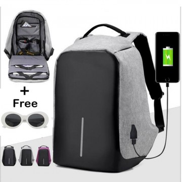 Anti-Theft Backpack USB Charging Travel Laptop Backpack Original USB Charging Anti-Theft Backpack10045