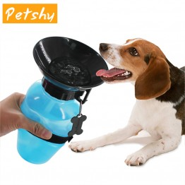 Portable Pet Water Bottle Petshy 500ml Dog Drinking Water Bottle Pet Puppy Cat Sport Portable Travel Outdoor Feed Bowl Drinking Water Mug Cup Dispenser