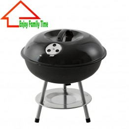 Portable Folding Charcoal BBQ Grill for Outdoor Camping Barbecue Roasting Picnic Family Party Grill