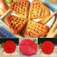 Silicone Molds DIY baking tools kitchen item heart-shaped waffle mold silicone cake mold Kitchen Accessories - BUY1-GET1