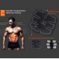 Six Pack Muscle Simulator - EMS(Electrical Muscle Stimulation) Abdominal Muscle Toner Wireless Muscle Simulator EMS Stimulation Body Slimming Beauty Machine Abdominal Muscle Exerciser Training Device Body Massager10052