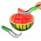 Stainless Steel Watermelon Melon Slicer Fruit Cutter Knife Fruit Divider Kitchen Fruit Tool Watermelon Cutting Kitchen Tool10040
