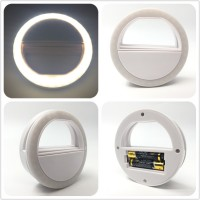 Super Selfie Light - Universal LED Photography Flash Ring Selfie Light for Photo Luminous annular Lamp Night Smartphone LED Ring For xiaomi Phone