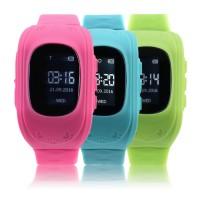 KidSmart GPS Tracker Wrist Watch - 2017 Anti Lost Children Watch Rubber Band Wrist Watch Bracelet Electronic Watch For Android