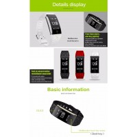 Original Mesuvida S2 Smart Band Wristband Bracelet Heart Rate Pedometer Sleep Fitness Tracker Bluetooth 4.0 IP67 Waterproof Smartband