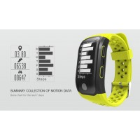 Smart Makibes G03 Bracelet IP68 Waterproof Smart Band Heart Rate Monitor Call Reminder GPS chip S908 Sports Bracelet