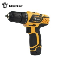 Ultimate Cordless Drill - DEKO DZ222 10.8V DC New Design Household Lithium-Ion Battery Cordless Drill/Driver Power Tools Electric Drill