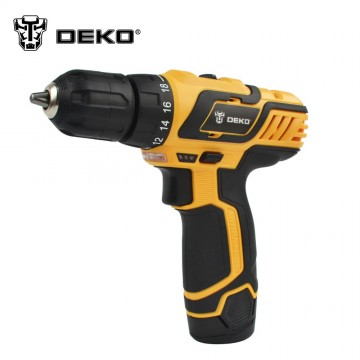 Ultimate Cordless Drill - DEKO DZ222 10.8V DC New Design Household Lithium-Ion Battery Cordless Drill/Driver Power Tools Electric Drill10027
