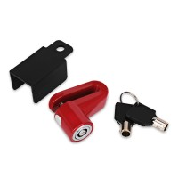 Universal Anti theft Disk Disc Brake Rotor Lock For Scooter Bike Motorcycle Safety Lock For Scooter Motorcycle Bicycle Safety